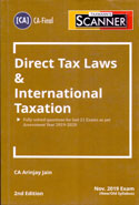 Scanner Direct Tax Laws & International Taxation New Old Syllabus