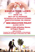 Education Laws and How to Set up & Manage Schools & Educational Institutions in India