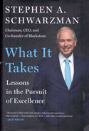 What It Takes Lessons in the Pursuit of Excellence