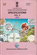 CPWD Specifications 2019 Civil Works in 2 Vols.