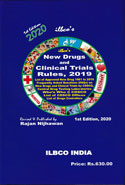 New Drugs and Clinical Trials Ruies 2019