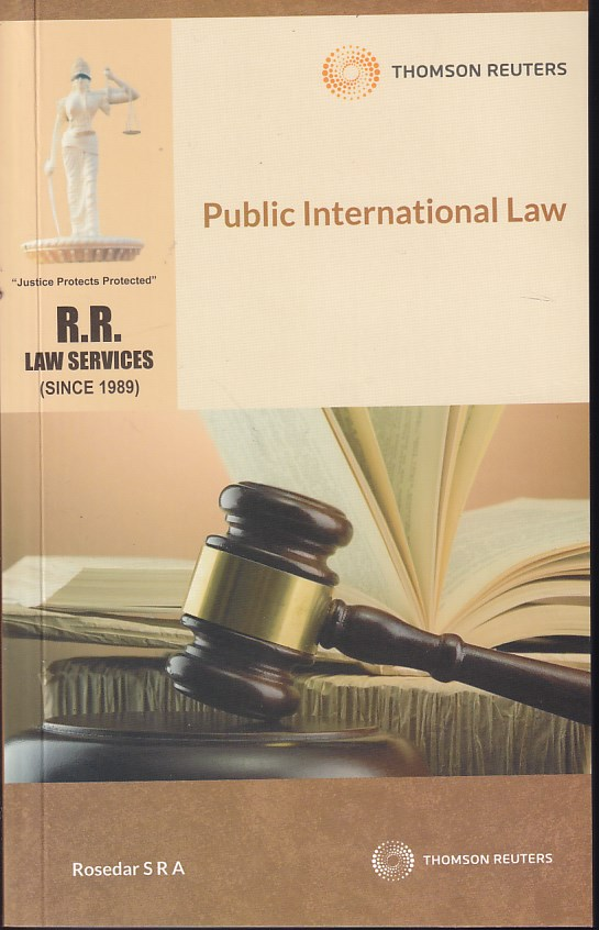 Public International Law R R Law Services Q & A Of Rosedar Series