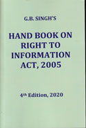 Handbook on Right to Information Act 2005