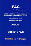 FAC a Journal on Food Safety Case Laws Vol I